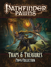 Image: Pathfinder Pawns: Traps and Treasures Pawn Collection  - Paizo Inc