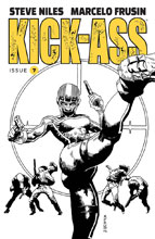 Image: Kick-Ass #7 (cover B - Frusin B&W)  [2018] - Image Comics