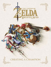 Image: Legend of Zelda: Breath of Wild - Creating a Champion HC  - Dark Horse Comics