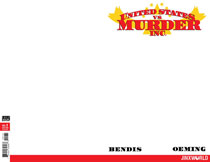 Image: United States vs. Murder, Inc. #1 (variant cover - Blank) - DC Comics