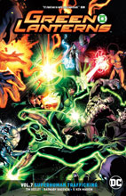 Image: Green Lanterns Vol. 07: Superhuman Trafficking SC  - DC Comics