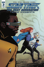 Image: Star Trek: TNG - Terra Incognita #3 (cover A - Shasteen) - IDW Publishing
