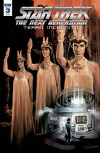 Image: Star Trek: The Next Generation: Terra Incognita #3 (incentive cover B - Woodward) (25-copy) - IDW Publishing