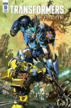 Image: Transformers: Unicron #5 (cover A - Milne) - IDW Publishing
