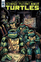 Image: Teenage Mutant Ninja Turtles #86 (cover B - Eastman) - IDW Publishing