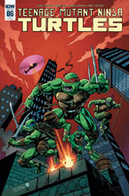 Image: Teenage Mutant Ninja Turtles #86 (incentive cover - Hopgood) (10-copy) - IDW Publishing
