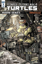 Image: Teenage Mutant Ninja Turtles Macroseries: Donatello  (cover A - Petersen) - IDW Publishing