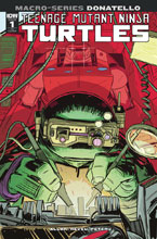 Image: Teenage Mutant Ninja Turtles Macroseries: Donatello  (cover B - David Petersen) - IDW Publishing