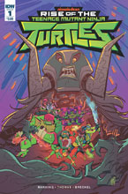 Image: Teenage Mutant Ninja: Turtles Rise of the Teenage Mutant Ninja Turtles #1 (cover A - Suriano) - IDW Publishing