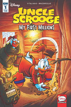 Image: Uncle Scrooge: My First Millions #1 (cover A - Gervasio) - IDW Publishing