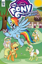 Image: My Little Pony: Friendship Is Magic #70 (incentive cover - Calbraith) (10-copy) - IDW Publishing
