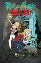 Image: Rick & Morty vs. Dungeons & Dragons #2 (cover A - Little) - IDW Publishing