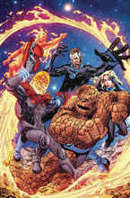Image: Fantastic Four #2 (variant Cosmic Ghost Rider cover - Raney) - Marvel Comics
