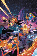 Image: X-Men Red #8 (variant Cosmic Ghost Rider cover - Campbell) - Marvel Comics