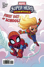 Image: Marvel Super-Hero Adventures: Captain Marvel - First Day of School #1 - Marvel Comics