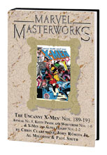 Image: Marvel Masterworks Vol. 270: The Uncanny X-Men Nos. 189-193, Annual No. 8, etc. HC  - Marvel Comics