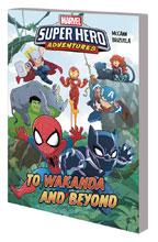 Image: Marvel Super-Hero Adventures: To Wakanda and Beyond SC  - Marvel Comics