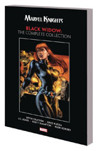 Image: Marvel Knights Black Widow by Grayson & Rucka: The Complete Collection SC  - Marvel Comics