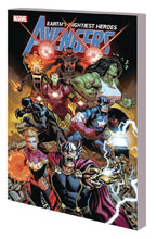 Image: Avengers by Jason Aaron Vol. 01: The Final Host SC  (DM variant cover - McGuinness) - Marvel Comics