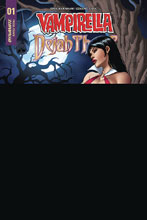Image: Vampirella / Dejah Thoris #1 (incentive cover - Vampi Seduction) (10-copy)  [2018] - Dynamite