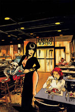 Image: Elvira: Mistress of the Dark #3 (incentive cover - Hack virgin) (20-copy) - Dynamite