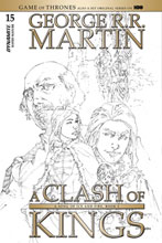 Image: George R. R. Martin's A Clash of Kings #15 (incentive cover - Rubi B&W) (15-copy) - Dynamite