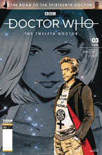 Image: Doctor Who: The Road to the Thirteenth Doctor #3 (cover A - Hack) - Titan Comics