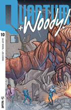 Image: Quantum and Woody [2017] #10 (cover D incentive - Internlocking Eisma) (20-copy) - Valiant Entertainment LLC