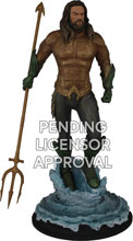 Image: Aquaman Movie 1/9-Scale Polystone Statue: Aquaman  - Icon Heroes