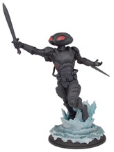 Image: Aquaman Movie 1/9-Scale Polystone Statue: Black Manta  - Icon Heroes