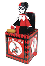 Image: Harley Quinn Jack-in-the-Box  - Biff Bang Pow