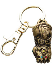 Image: Marvel 3D Keychain: Avengers Infinity War - Infinity Gauntlet  - Sales One