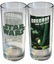 Image: Star Wars Retro Road Trip Glass: Dagobah  (15 ounce) - iCup Inc.