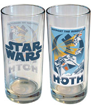 Image: Star Wars Retro Road Trip Glass: Hoth  (15 ounce) - iCup Inc.
