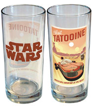 Image: Star Wars Retro Road Trip Glass: Tattooine  (15 ounce) - iCup Inc.