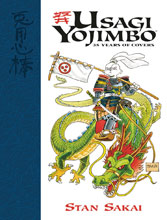 Image: Usagi Yojimbo: 35 Years of Covers HC  - Dark Horse Comics