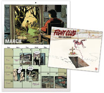 Image: Fight Club 2020 Calendar  - Dark Horse Comics