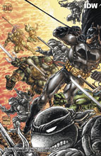 Image: Batman / Teenage Mutant Ninja Turtles III #5 (variant cover - Kevin Eastman) - DC Comics/IDW