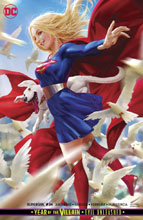 Image: Supergirl #34 (YotV) (variant card stock cover - Derrick Chew) - DC Comics