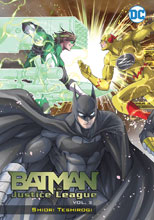 Image: Batman and The Justice League Manga Vol. 03 SC  - DC Comics