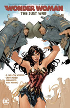 Image: Wonder Woman Vol. 01: The Just War HC  - DC Comics