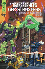 Image: Transformers / Ghostbusters #4 (cover A - Schoening) - IDW Publishing