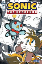 Image: Sonic the Hedgehog #21 (cover A - Peppers)  [2019] - IDW Publishing