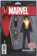 Image: Powers of X #5 (variant Action Figure cover - Christopher) - Marvel Comics