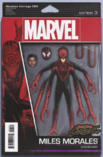 Image: Absolute Carnage #3 (variant Action Figure cover - Christopher) - Marvel Comics