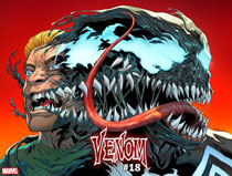 Image: Venom #18 (variant Immortal cover - Sliney) - Marvel Comics