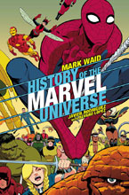 Image: History of Marvel Universe #3 (variant cover - Rodriguez) - Marvel Comics