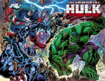 Image: Immortal Hulk #24 (1:50 incentive wraparound cover - Bennett) - Marvel Comics