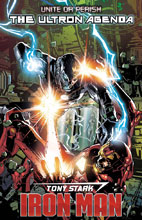 Image: Tony Stark: Iron Man #16 (variant cover - Deodato) - Marvel Comics