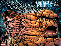 Image: Fantastic Four #14 (variant Immortal cover - Mckone) - Marvel Comics